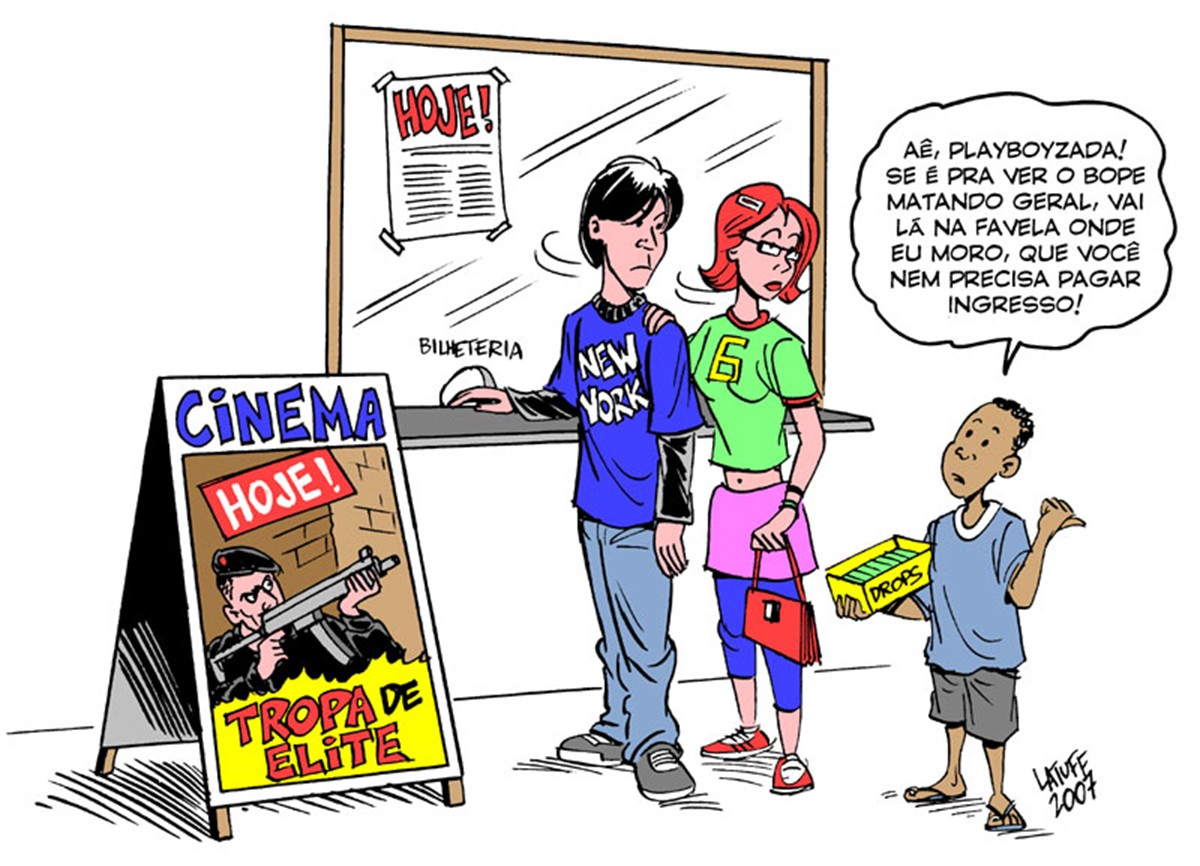 Reprodução/Carlos Latuff